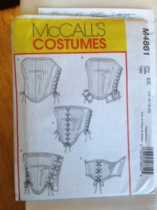Paula corset pattern