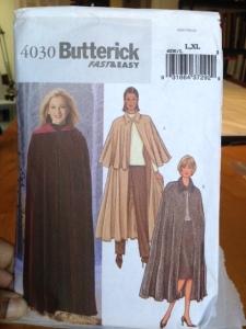 Sharon cape pattern