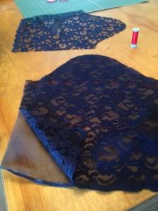 Blue Lace Dress 2